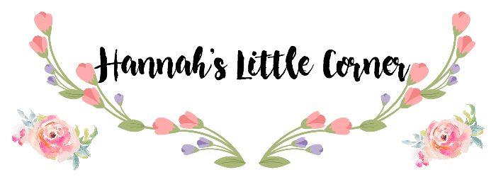 Hannah's Little Corner